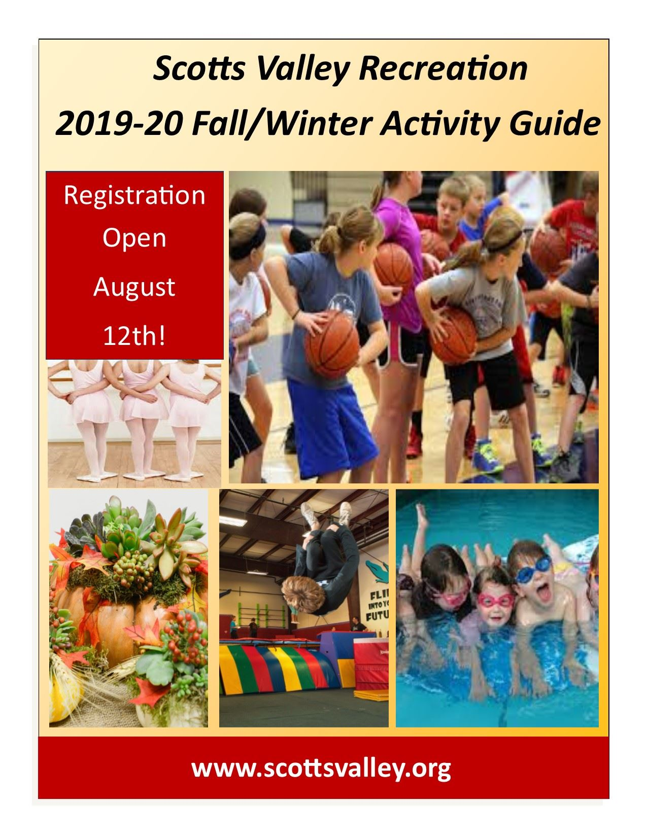 2019-20 Fall/Winter Activity Guide