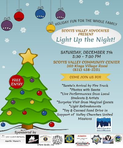 Light Up the Night 2019 Flyer