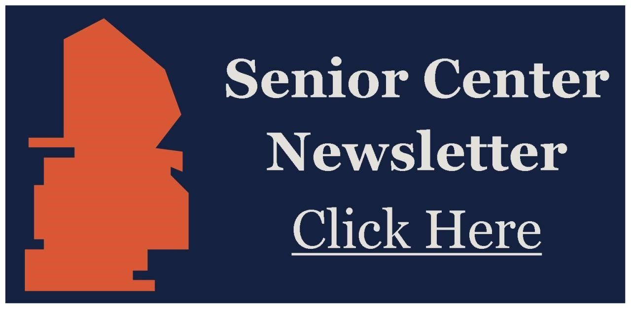 Senior Center Newsletter Logo